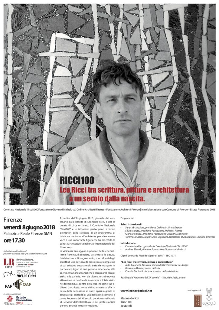 Leo Ricci tra scrittura, pittura e architettura