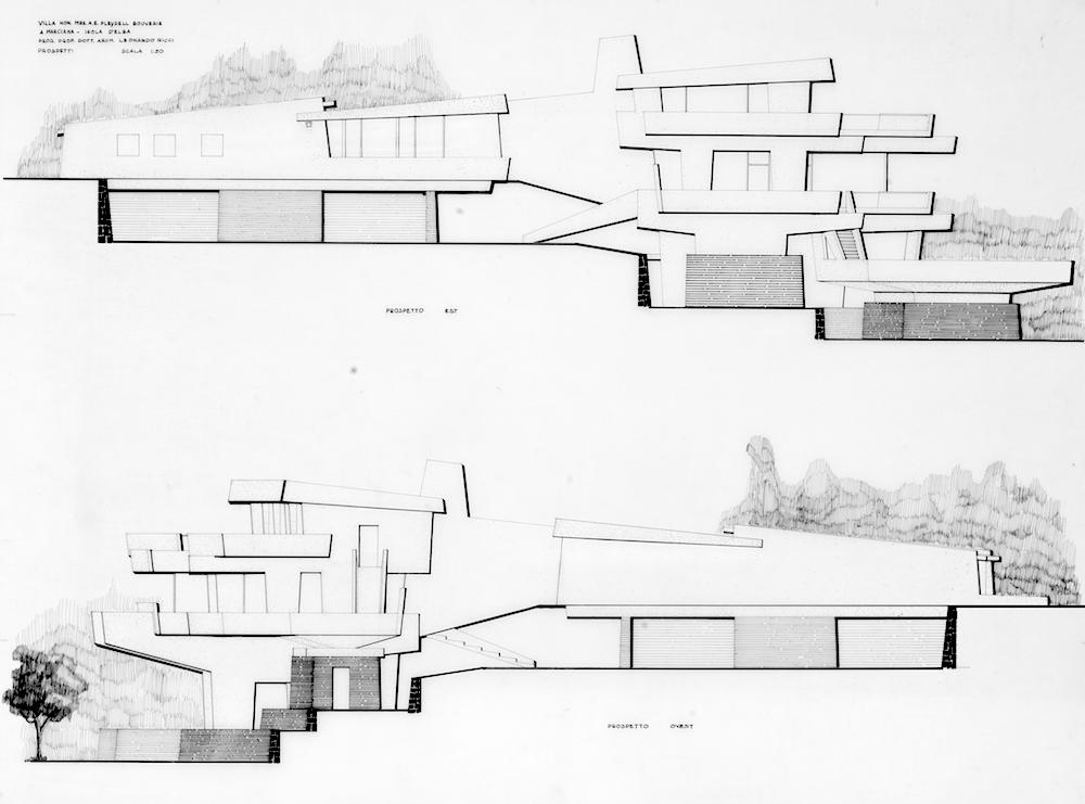 Leonardo Ricci - Villa Pleydell Bouverie, 1958-1960